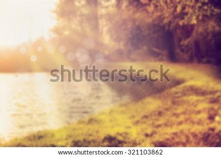 blurred beautiful natural landscape - photo #42