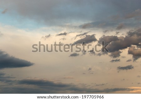beautiful background of clouds