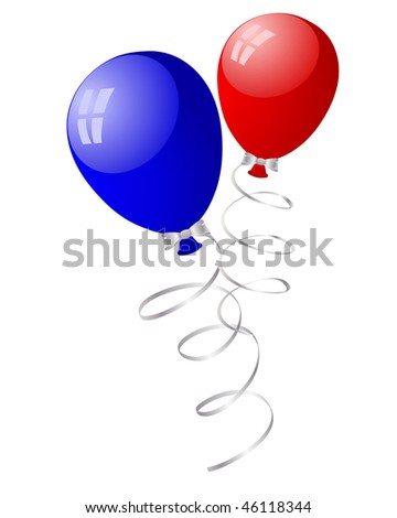 Beautiful balloons in the air