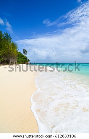Beautiful Beach in Thailand