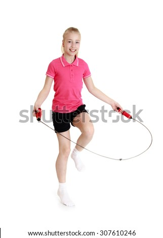 images of girls jumping rope № 13280