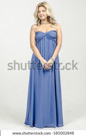Blonde Cocktail Dress