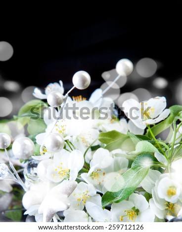 Beautiful blossoms - stock photo