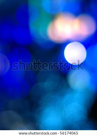 beautiful bokeh background - stock photo