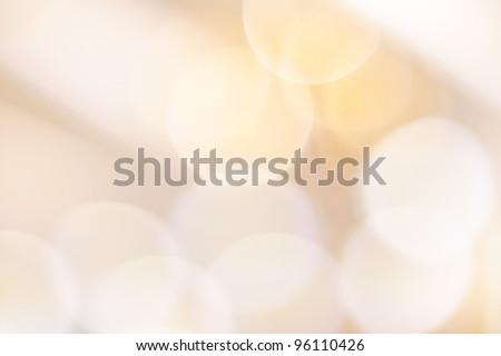 Beautiful bokeh lights - stock photo