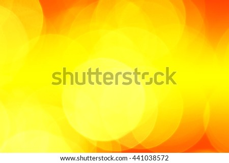 beautiful bokeh lights for background  - stock photo