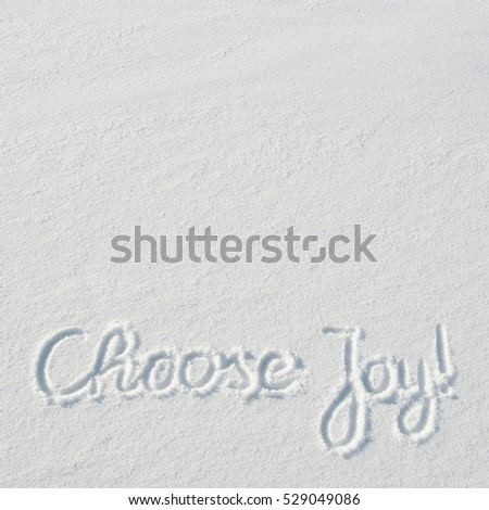 Choose Joy Calligraphy Stock Images RoyaltyFree Images  Vectors