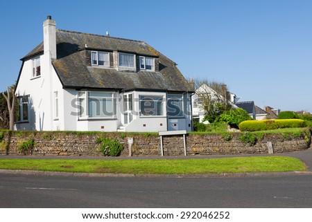 Beautiful Cottage.England - stock photo