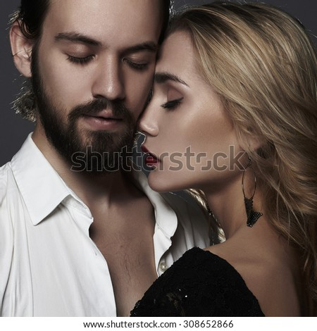 beautiful couple. woman with man.beauty girl and boy together.love,valentine