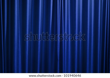 Beautiful curtain background.