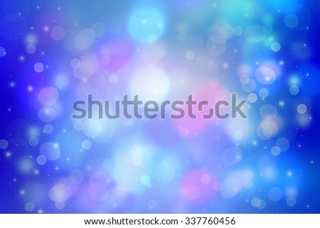 Beautiful dreamy background with bokeh lights - stock photo