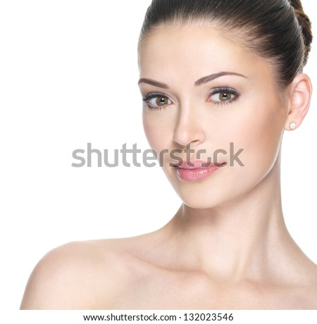 Beautiful Stock Photography Beautiful face of young adult