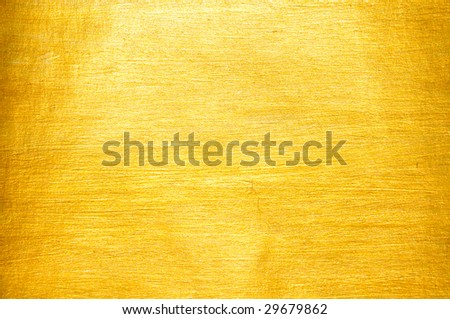Beautiful fine brushed golden texture - stock photo