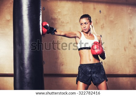 Female domination punch