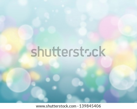 Beautiful flare bokeh background image