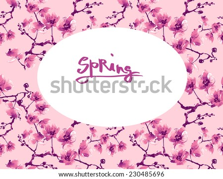 Beautiful floral background-2