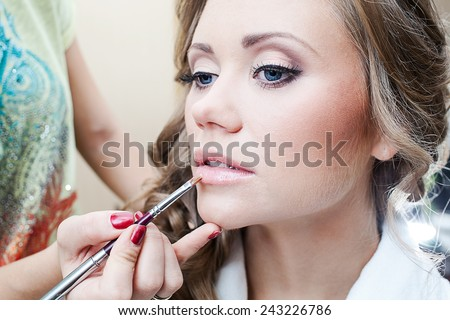 beautiful girl make-up