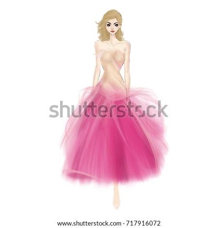 Gaon dress image cartoon