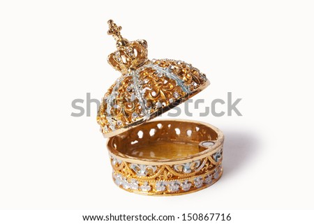 beautiful gold jewelry box & Jewelry Box Casket Gold Precious Stones Stock Photo 604181933 ... Aboutintivar.Com