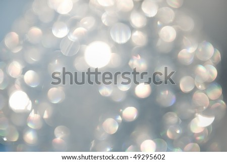 Beautiful Holiday Bokeh - stock photo