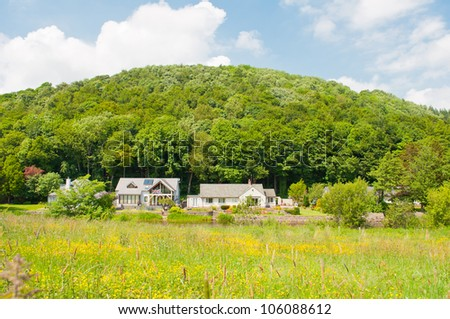 Beautiful Holiday cottage in The Lake District - stock photo