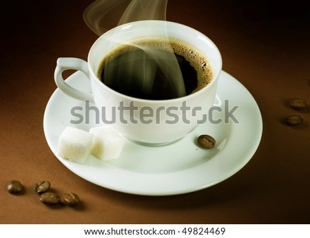 Beautiful Hot Coffee