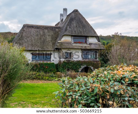 Beautiful House In French Brittany Typical France Normandy