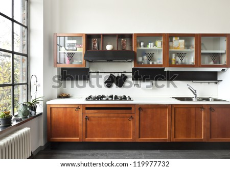 Beautiful Kitchen Stock Photos, Royalty-Free Images & Vectors