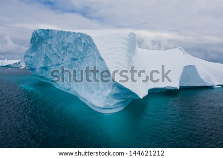 Beautiful Iceberg?Antarctica - stock photo