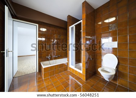 beautiful internal view - stock photo