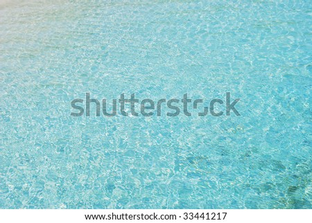 beautiful island seashore with turquoise water and white sand