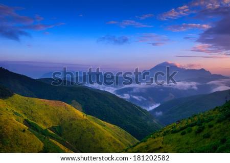 Beautiful Laos Landscapes - stock photo