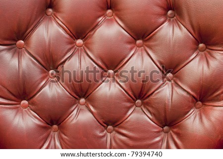 beautiful leather upholstery sofa with buttons