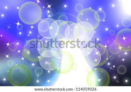 beautiful light abstract design for background - stock photo