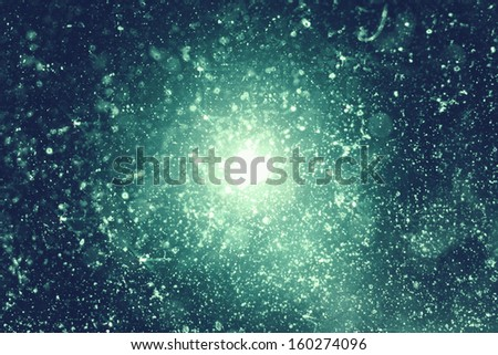 beautiful line background with the particles - stock photo