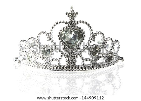 Beautiful little silver crown