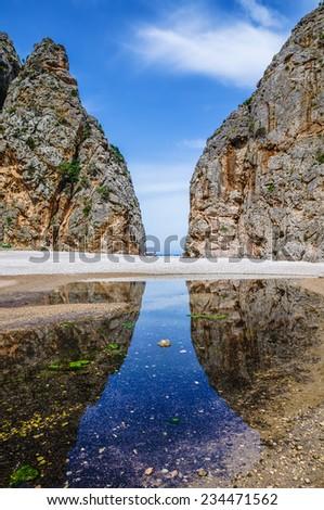 Beautiful Mallorca - stock photo