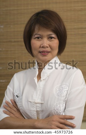 stock photo beautiful mature asian woman 45973726 Sole women searching for men   kreafunk tradio in bright white