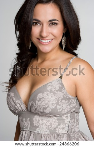 Beautiful Model - stock photo