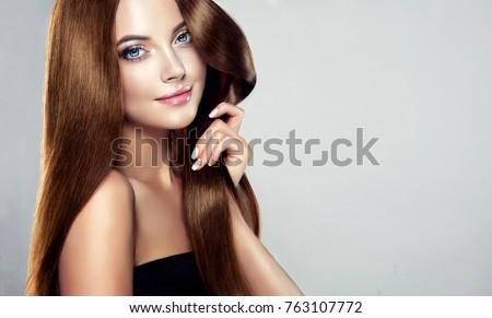 Haircut Woman Stock Images RoyaltyFree Images Vectors - Haircut girl model