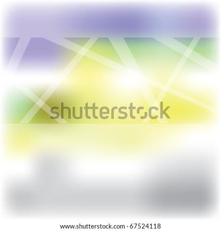 Beautiful modern glasses for door or window - stock photo