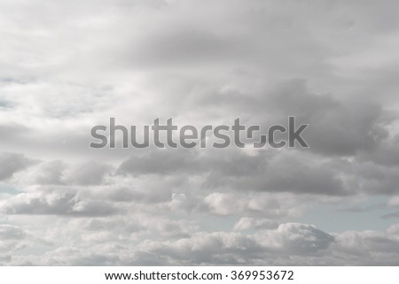Beautiful morning sky in pastel colours - stock photo