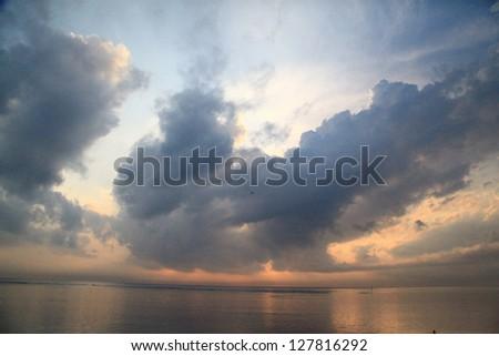 Beautiful Morning Sunrise - stock photo