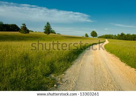 Beautiful nature landscape - stock photo