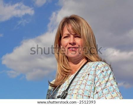 Beautiful Nurse - stock photo