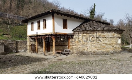 beautiful old Ethnographic complex in Gabrovo