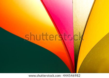 Beautiful paper color background and abstract with warm tone