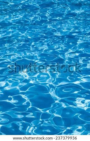 Beautiful patterns in swimming pools.