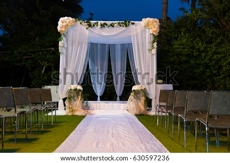 Beautiful photo of the Jewish Hupa  wedding putdoor . & Wedding Canopy Stock Images Royalty-Free Images u0026 Vectors ...