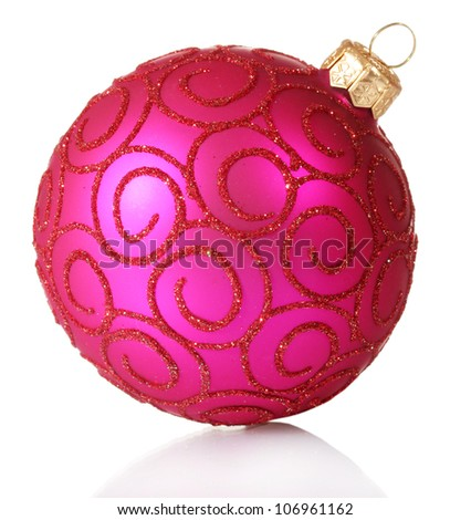 Pink Christmas Balls Stock Images, Royalty-Free Images & Vectors ...